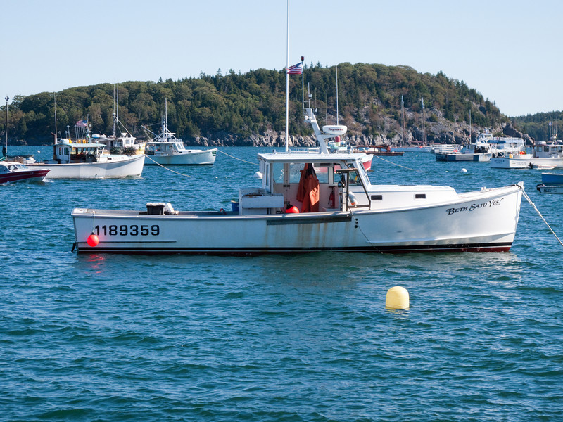 Fishing vessels in Bar Harbor, Maine