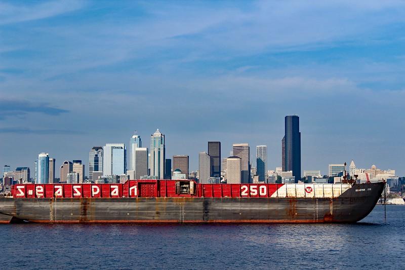 Seattle in a Boat