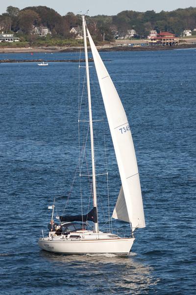 A morning sail.