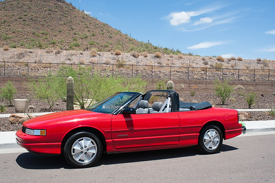 Bob Anderson's 1990 Oldsmobile Cutlass Supreme Convertible