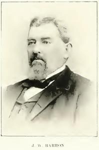 John Weden Barron, Colorado Pioneer, Sheriff of Elbert County, and my Great-Uncle.