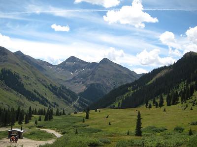Las Animas Pass above Lake City.