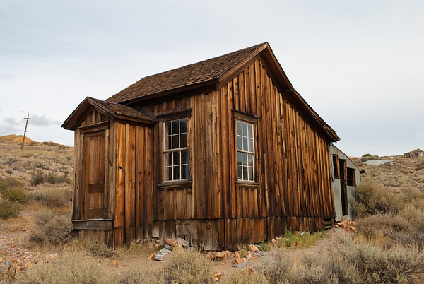 Bodie, California - a gold ghost town in a state of arrested decay
