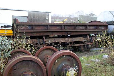 14t Steel Tipper Mermaid DB989205, Walker Line Sidings, Bodmin  03/12/11