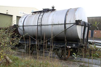 14t TTO Tank LMS 164834/A5442, Walker Line Sidings, Bodmin  03/12/11