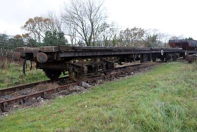 MK1 BSK Frame 975289 (34620), Walker Line Sidings, Bodmin  03/12/11