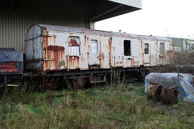 GUV 94257 at the Walker Line Sidings, Bodmin 03/12/11