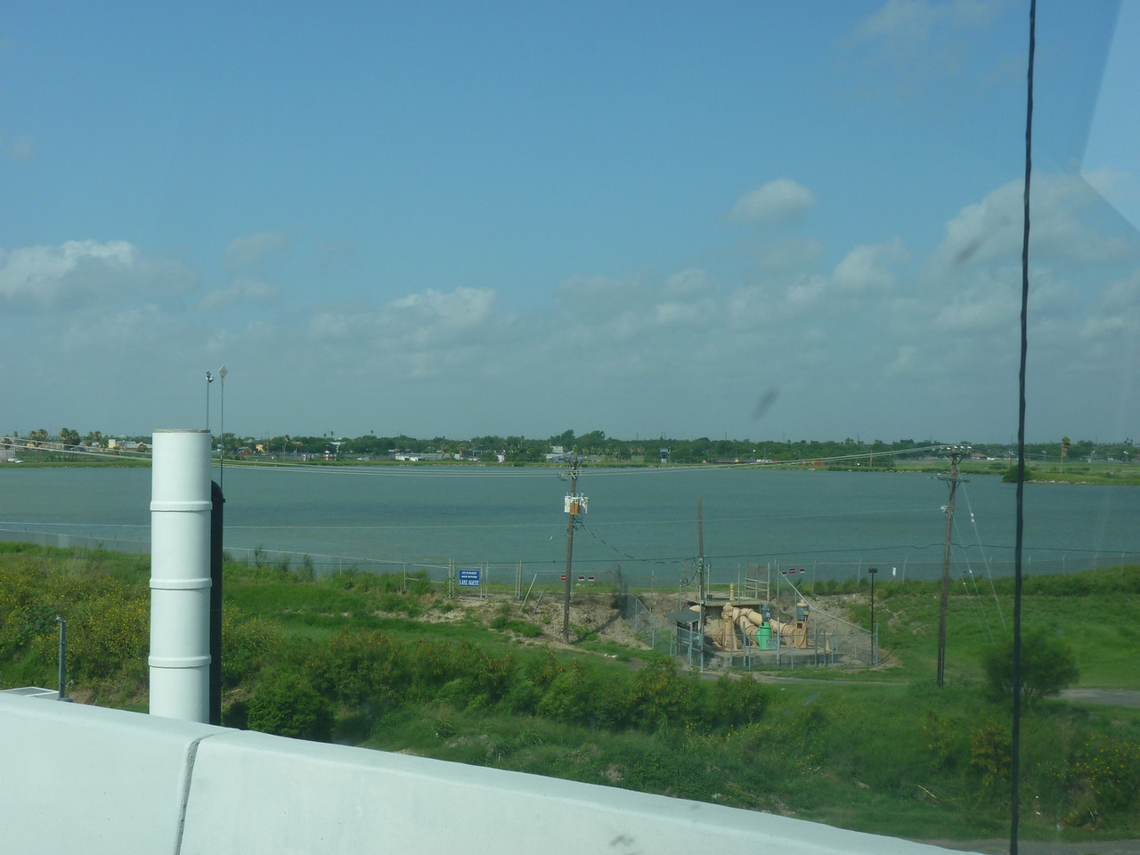 Boeye Reservoir site will be replaced by new reservoir under construction just south of the McAllen International Airport.