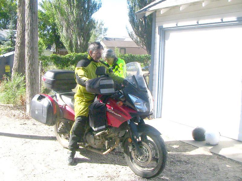 getting saddled up