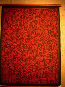 Tarambuco is famous for incredible weavings.