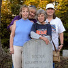 Cathy Boswell and family.  Her mother Fran Bolton is in front.  Cathy has done much Bolton genealogy.
