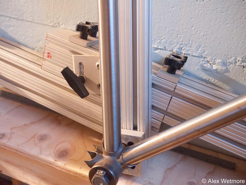 Seat tube angle adjustment