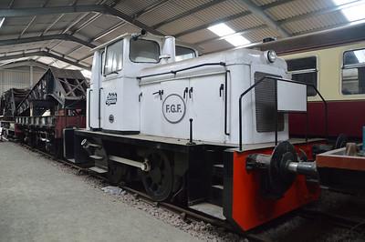 0-4-0DH 552 British Gypsum  18/07/15.