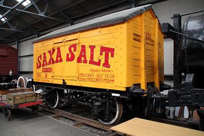 252 10t Ridge Roof Salt Van  22/06/13.