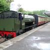 0-6-0ST 75254 sits at Birkhill Station on Bo'ness Railway 22/06/13.