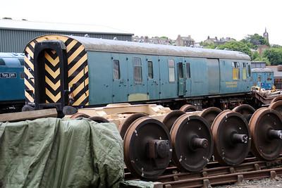 BR BSK 80218 at Bo'ness Railway 22/06/13.