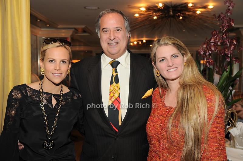 Tory Burch, Stewart Lane, Bonnie Comley<br /> photo by Rob Rich © 2009 robwayne1@aol.com 516-676-3939