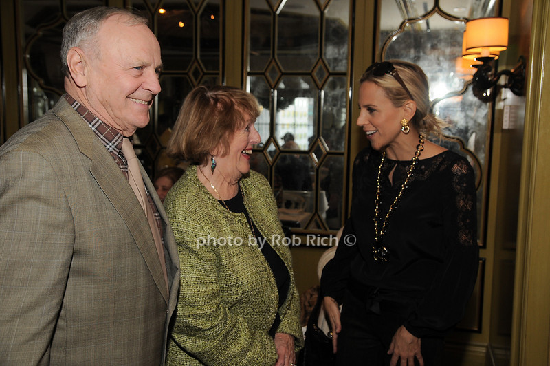 Jim Comley, Virginia Comley, Tory Burch<br /> photo by Rob Rich © 2009 robwayne1@aol.com 516-676-3939