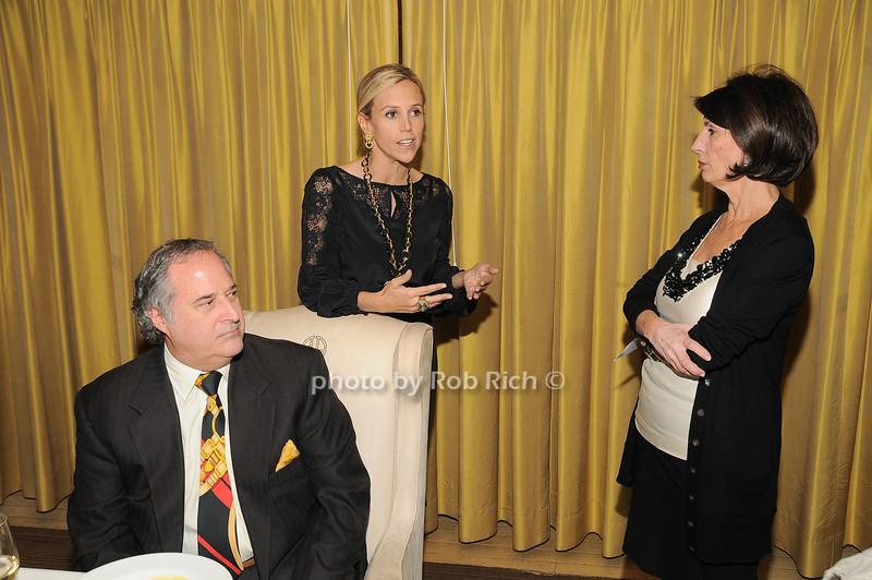 Stewart Lane, Tory Burch, Pamela Fiore<br /> photo by Rob Rich © 2009 robwayne1@aol.com 516-676-3939