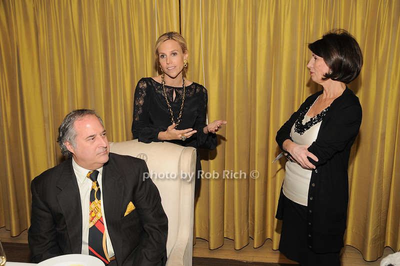 Stewart Lane, Tory Burch, Pamela Fiore<br /> photo by Rob Rich © 2009 robwayne1@aol.com 516-676-3939