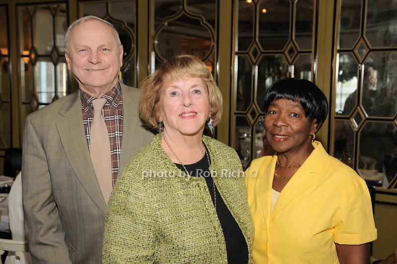 Jim Comley, Virginia Comley, Claudette<br /> photo by Rob Rich © 2009 robwayne1@aol.com 516-676-3939
