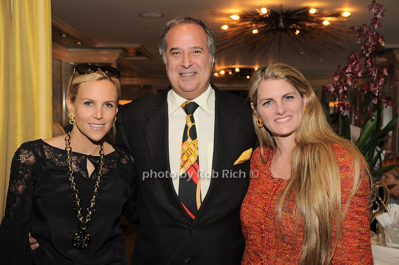 Tory Burch, Stewart Lane, Bonnie Comley<br /> photo by Rob Rich © 2009 robwayne1@aol.com 516-676-3939