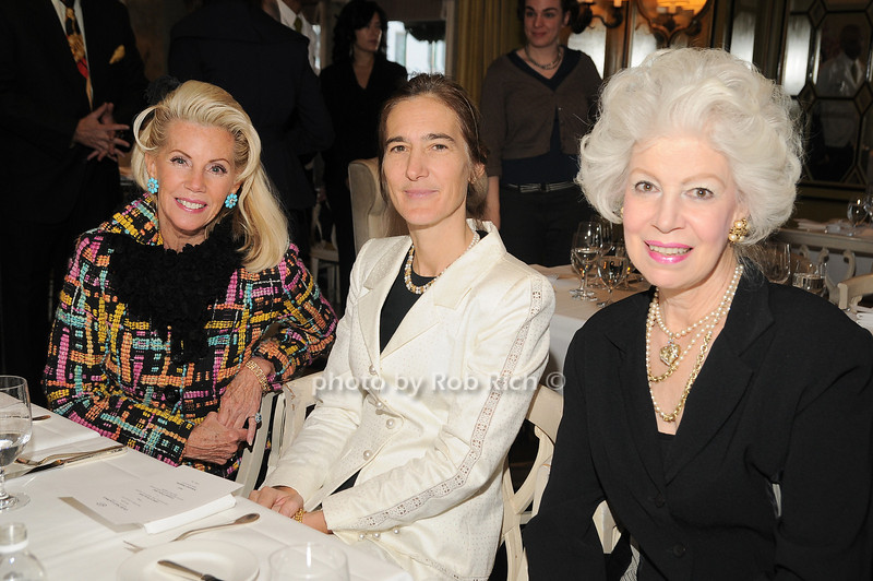 CeCe Black, Judith Quincy, Jano Herbosch<br /> photo by Rob Rich © 2009 robwayne1@aol.com 516-676-3939