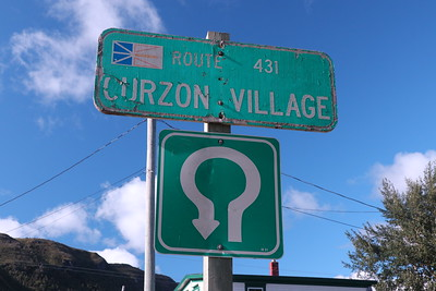 While we stayed in Woody Point the locals call our area Curzon Village