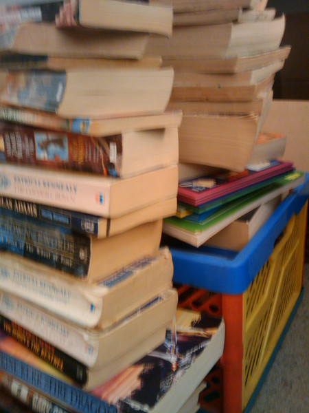 Slightly fuzzy books