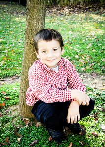 connor sitting under tree-1