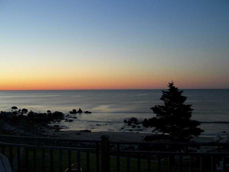 Sunrise. Whitepoint, NS, Canada