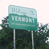 Welcome To Vermont.  The Green Mountain State.
