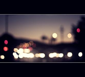 Cupertino at night