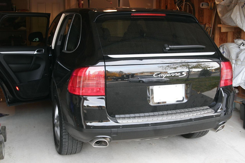 The new Toy: 2006 Porsche Cayenne S