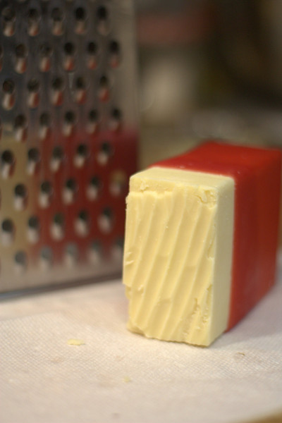 cheese, prepare to be grated