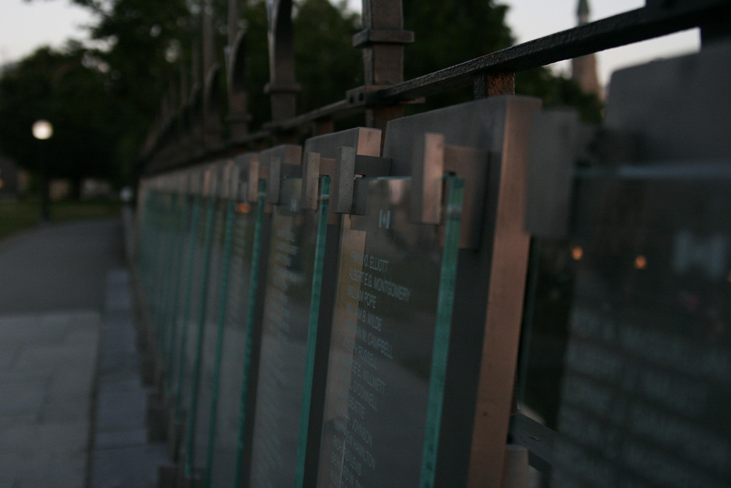 Memorial for police officers who died in the line of duty