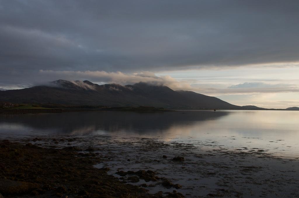 Croagh Patrick at sunset