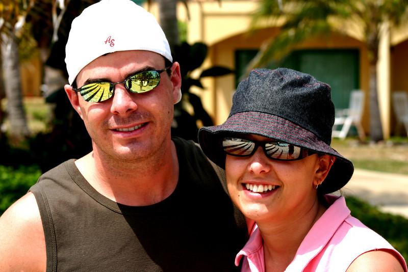 Greg and Jenna, Cayo Coco, Cuba