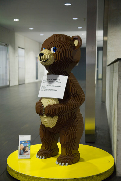 Lego Bear at ZRH