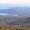 Camden, ME harbor from Mt. Megunticook