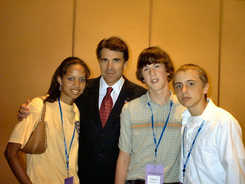 Perry <br /> Me and the governor.