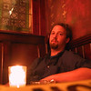 Me, smoking, relaxing, at Rí-Rá.