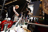 CO7/ Rube Goldberg Project <br /> <br /> Choice 9 of 10<br /> <br /> Anne Jacobson from St. Olaf College works to reset the team's machine for its third run during Saturday's (March 31) Rube Goldberg Machine Contest national finals at Purdue University. St. Olaf won the competition. (Purdue University photo/Andrew Hancock)