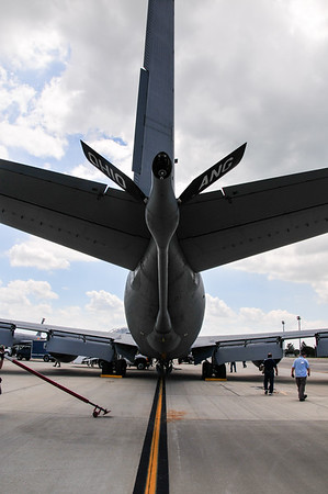 Refueling boom of KC-135