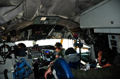 Cockpit of KC-135