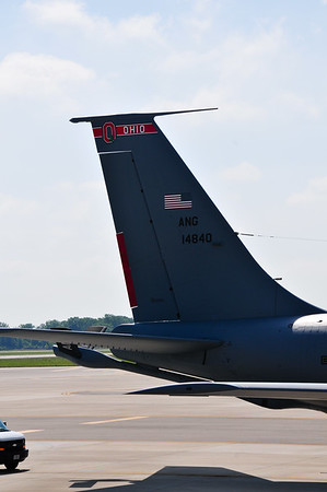 The Ohio Air National Guard out of Rickenbacker supports OSU.