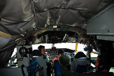 Cockpit of KC-135
