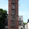 This training tower is in the parking lot of Engine 2 and Ladder 19's firehouse