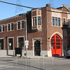Former quarters of Engine 40.  Now being made into a dance studio.