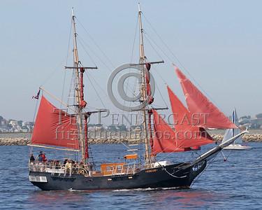 Sailing Vessel 'Poincare' - Boston's Inner Harbor - May 28,2006